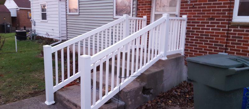 Ramp railing